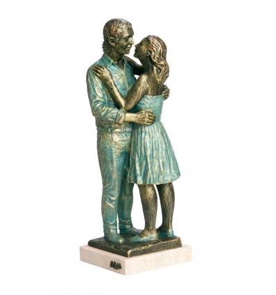 Escultura decorativa de pareja Proyecto
