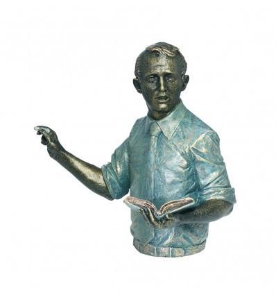 Escultura realista de profesión PROFESOR de Ángeles Anglada
