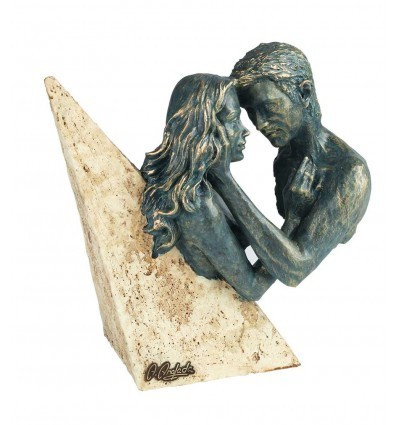 Escultura decorativa de pareja DULZURA