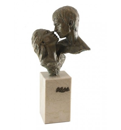 Escultura decorativa de pareja FASCINACIÓN