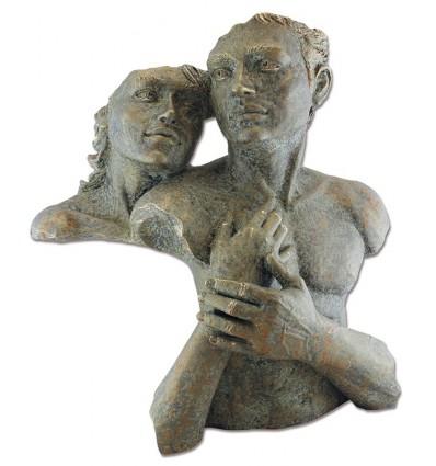 Moderna escultura de pareja SATISFACCIÓN