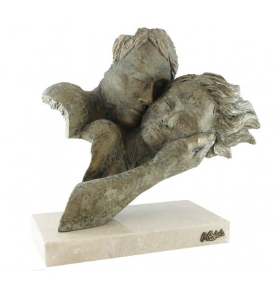 Escultura decorativa de pareja DESPERTAR