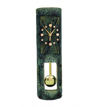 Roof tile clock