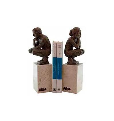 Escultura realista apoyalibros APOYALIBROS CHICO Y CHICA