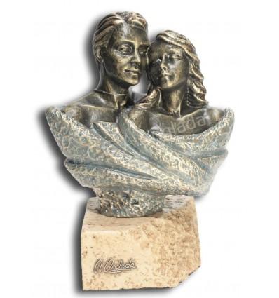 Escultura decorativa de pareja TU Y YO