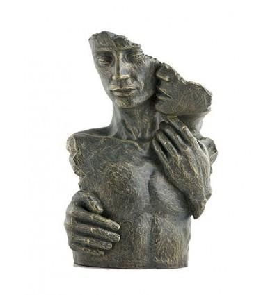 Escultura moderna de pareja MOMENTOS