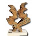 Escultura moderna de pareja Deseo
