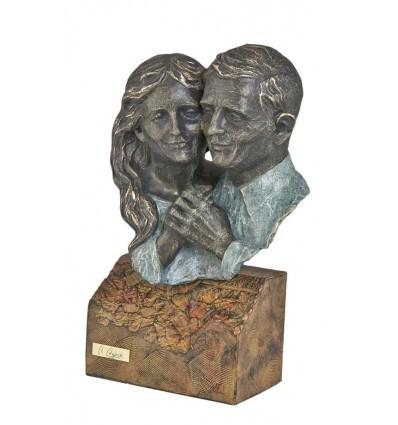 Escultura decorativa de pareja CONSTANCIA