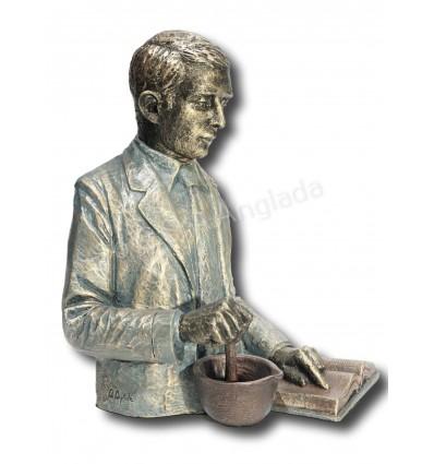 escultura decorativa de profesión FARMACÉUTICO / QUÍMICO