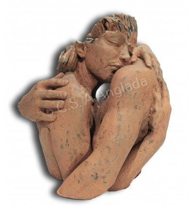 Escultura moderna de pareja APRECIO