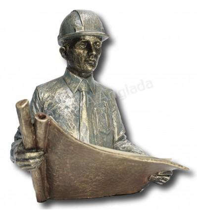 escultura decorativa de profesión INGENIERO/ARQUITECTO/APAREJADOR