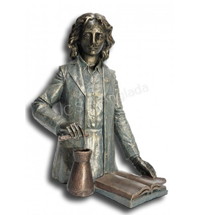 Realistic sculpture Pharmacist/Chemist  by Angeles Anglada