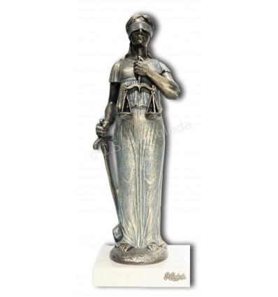 escultura decorativa de profesión JUSTICIA