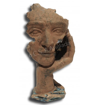 Escultura contemporánea Mirada de Ángeles Anglada