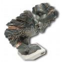 Moderna escultura de pareja APROXIMACIÓN