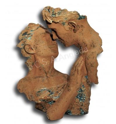 Moderna escultura de pareja DECLARACIÓN