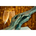 Escultura de manos Hasta la eternidad de Ángeles Anglada_vista 3