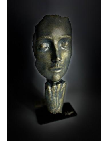 Escultura contemporánea Pausa de Ángeles Anglada