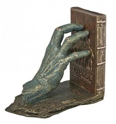 Escultura apoyalibros MANO IZDA. QUIJOTE