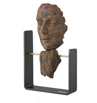 escultura moderna PAUSA OXIDO