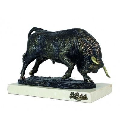 Escultura de animales TORO ESTRIÓN