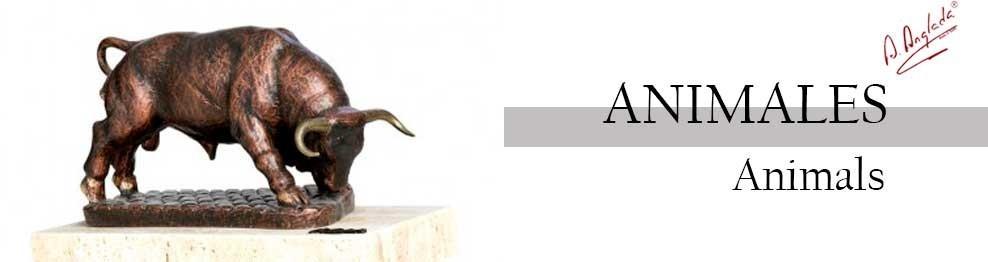 Realistische Tierskulpturen - Anglada Skulpturen